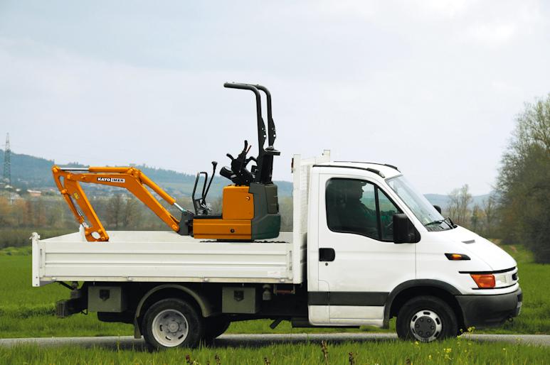 KATO 12 VXE  Minibagger leicht transportierbar