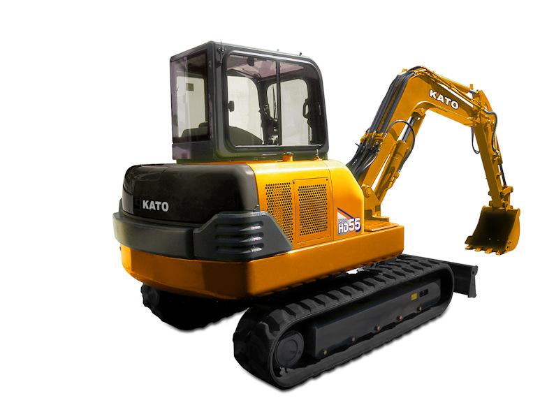 KATO 55 N4 Minibagger / Kompaktbagger bei Niklaus Baugeräte mieten