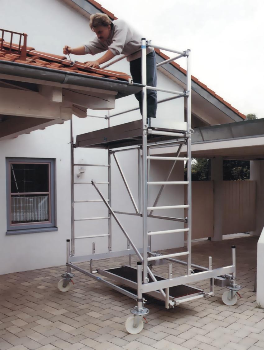 Gerüste, Böcke, Treppen und Leitern