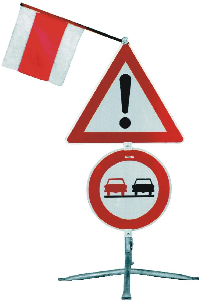 Verkehrsführung und Absicherung
