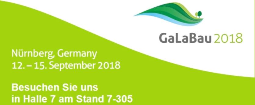 Infos zur GaLaBau 2018