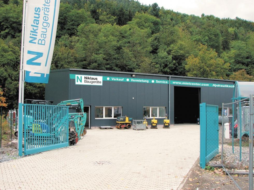 Baumaschinen mieten oder kaufen bei Niklaus Baugeräte in Waldshut-Tiengen
