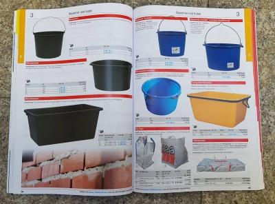 Zubehör und Geräte für das Baugewerbe im Niklaus Baugeräte Katalog 2019/2020