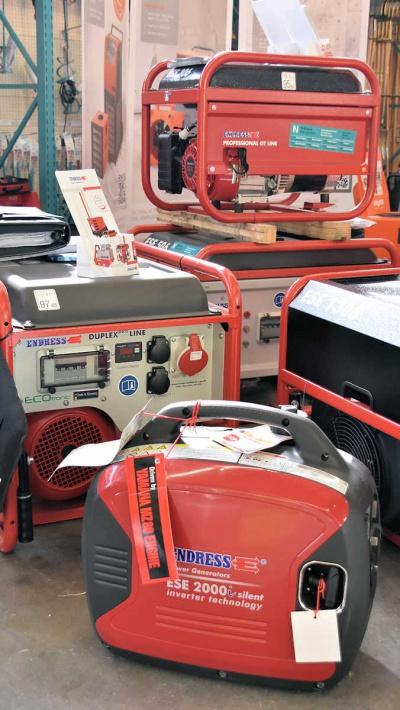 Endress Stromerzeuger bei Niklaus Baugeräte kaufen und mieten