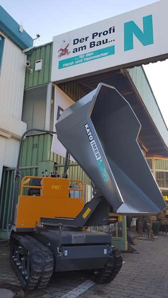 Dumper von KATO sind erhältlich bei Niklaus Baugeräte