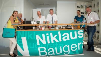 Fragen Sie dochj einfach das Team von Niklaus Baugeräte