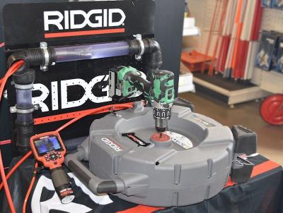 RIDGID Diagnose Gerät mit Handkamera
