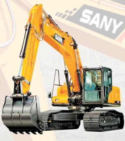 Sany Kettenbagger, SANY-Bagger bieten bewährte Motoren, Hydraulik und Elektronik. Effizient, zuverlässig, einfache Bedienung und Wartung, hoher Komfort, gute Ergonomie.
