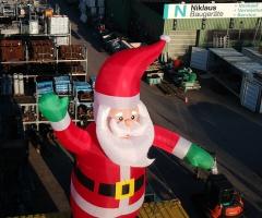 Der Nikolaus bei Niklaus Baugeräte in Gomaringen