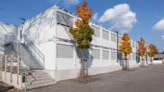 Containex-Container im Einsatz als vollwertiges Schulgebäude