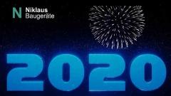 Alles Gute für 2020 wünscht Niklaus