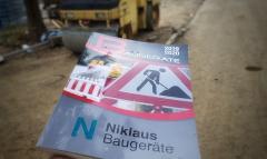Niklaus Katalog für Baugeräte und Baumaschinen Ausgabe 2019/2020