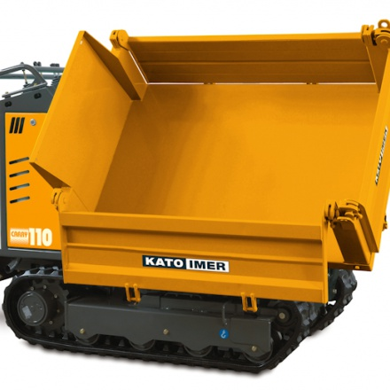 KATO Carry 110 Dreiseitenkipper bei Niklaus Baugeräte kaufen und mieten
