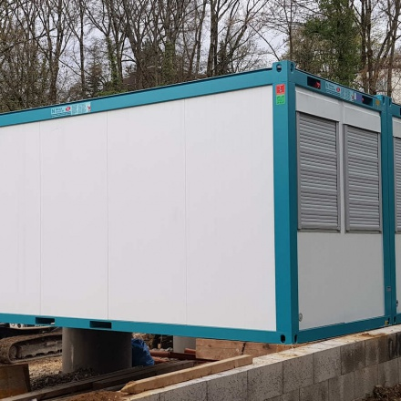 Baucontainer, Pausencontainer oder Materialcontainer im Raum Reutlingen bei Niklaus Baugeräte