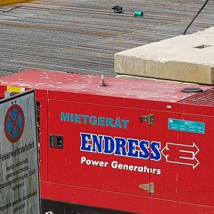 Stromgeneratoren, Hochleistungsgeneratoren und Stromverteiler für Baustellen in Reutlingen von Niklaus Baugeräte
