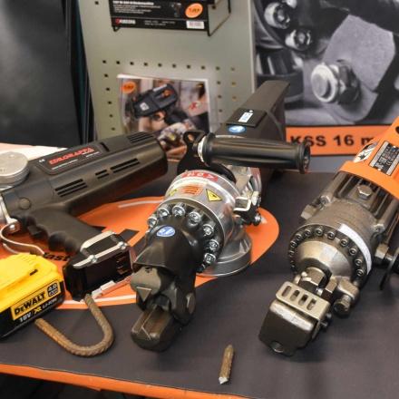 Drahtbindegeräte von TJEP beim Nivelliertag 2020