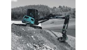 ES 60 TR Kurzheckbagger / Minibagger mit Verstellausleger bei Niklaus Baugeräte mieten
